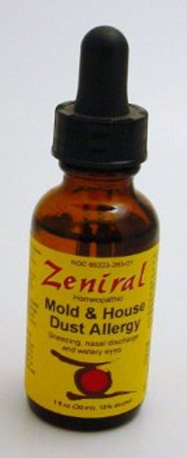 Zeniral Mold/ House Dust Allergy 1oz