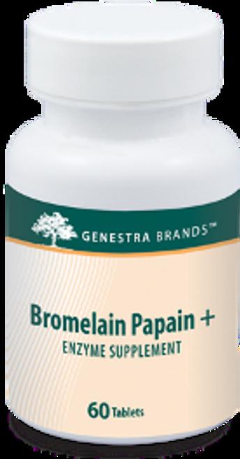 Genestra Bromelain Papain + 60 Tablets