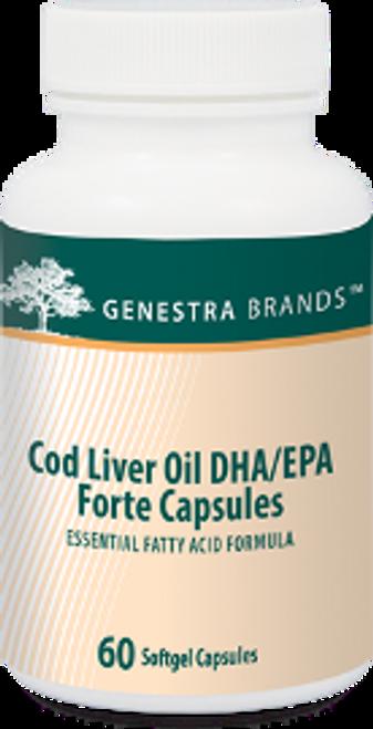 Genestra Cod Liver Oil DHA/EPA Forte 60 Capsules