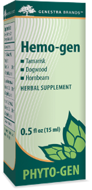 Genestra Hemo-gen 0.5 fl oz (15 ml)
