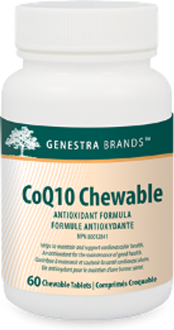 Genestra CoQ10 Chewable 60 Tabs