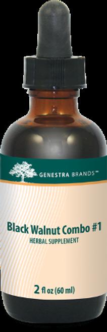 Genestra Black Walnut Combination #1 2 fl oz (60 ml)