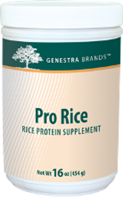 Genestra Pro Rice  16 oz (454 grams) 17 servings/ container