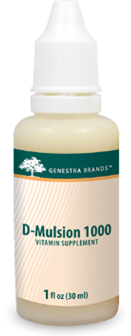 Genestra D-Mulsion 1000 Citrus 1 fl oz (30 ml)