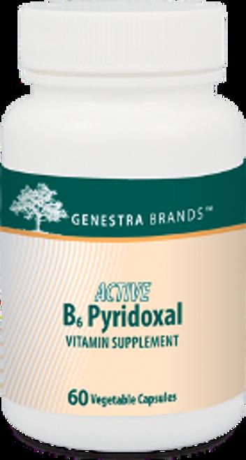 Genestra Active B6 Pyridoxal 60 Capsules