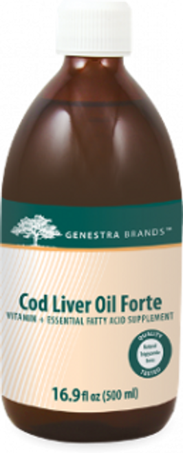 Genestra Cod Liver Oil Forte 16.9 fl oz (500 ml)