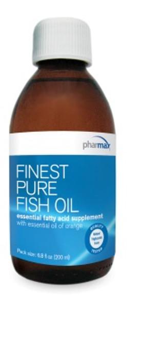 Pharmax Finest Pure Fish Oil (orange) 16.9 fl oz (500 ml)