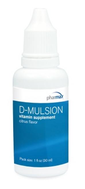 Pharmax D-Mulsion 1 fl oz (30 ml)