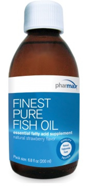 Pharmax Finest Pure Fish Oil (strawberry) 6.8 fl oz (200 ml)