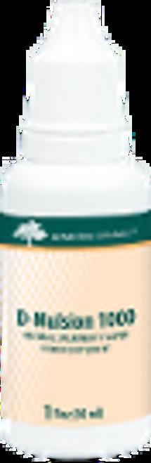 Genestra D-Mulsion 1000 Spearmint 1 fl oz (30 ml)