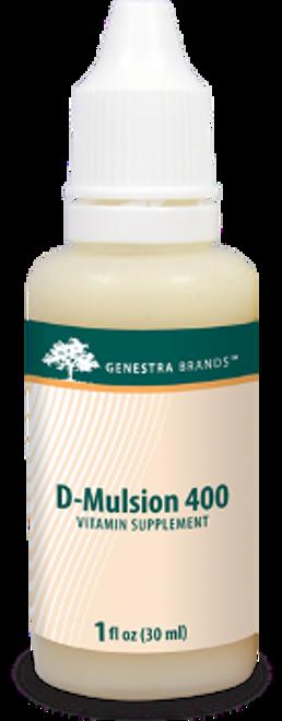 Genestra D-Mulsion 400 1 fl oz (30 ml)