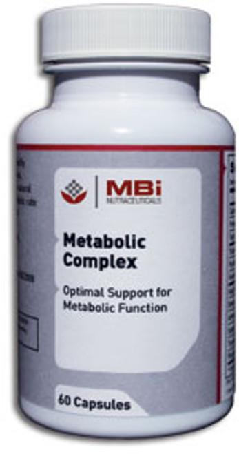 MBi Nutraceuticals Metabolic Complex Glandular Tissue Concentrate 60 Capsules
