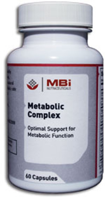 MBi Nutraceuticals Metabolic Complex Glandular Tissue Concentrate 180 Capsules