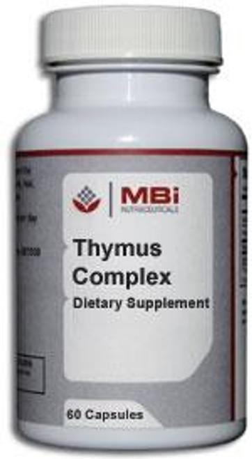 MBi Nutraceuticals Thymus Complex Glandular Tissue Concentrate 180 Capsules