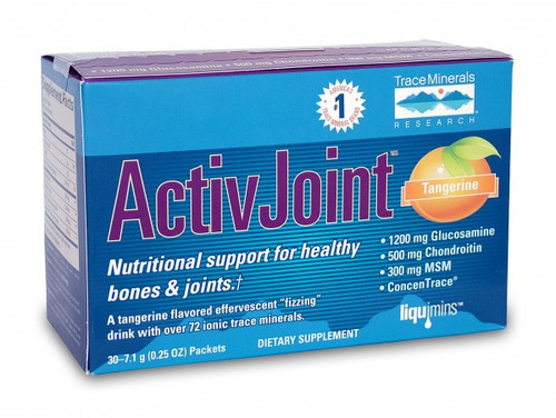 Trace Minerals ActivJoint Bone and Joint powder 30 packets