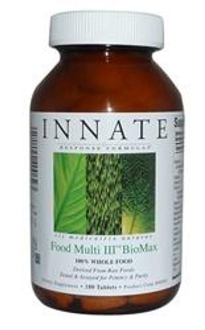 Innate Response Food Multi III BioMax 180 count Tablet