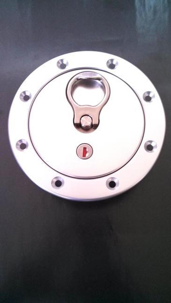 New Fuel Tank Locking Gas Cap w// KEY for Nissan Frontier Xterra Plymouth Subaru