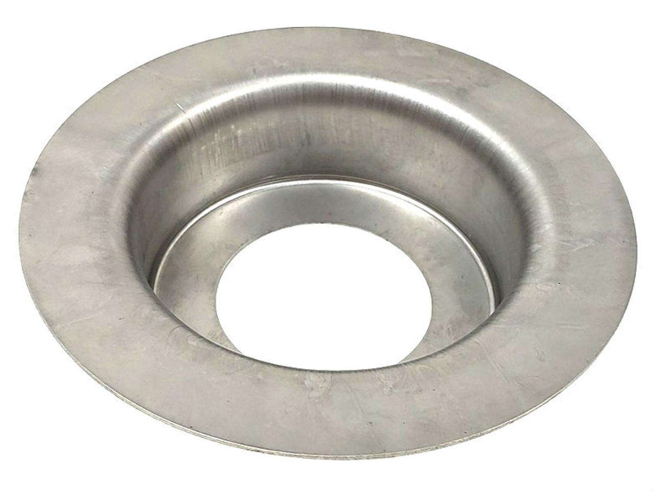 Chrome Stainless Steel Flush Mount Fuel Fill Filler Neck Cap truck bed deck gas