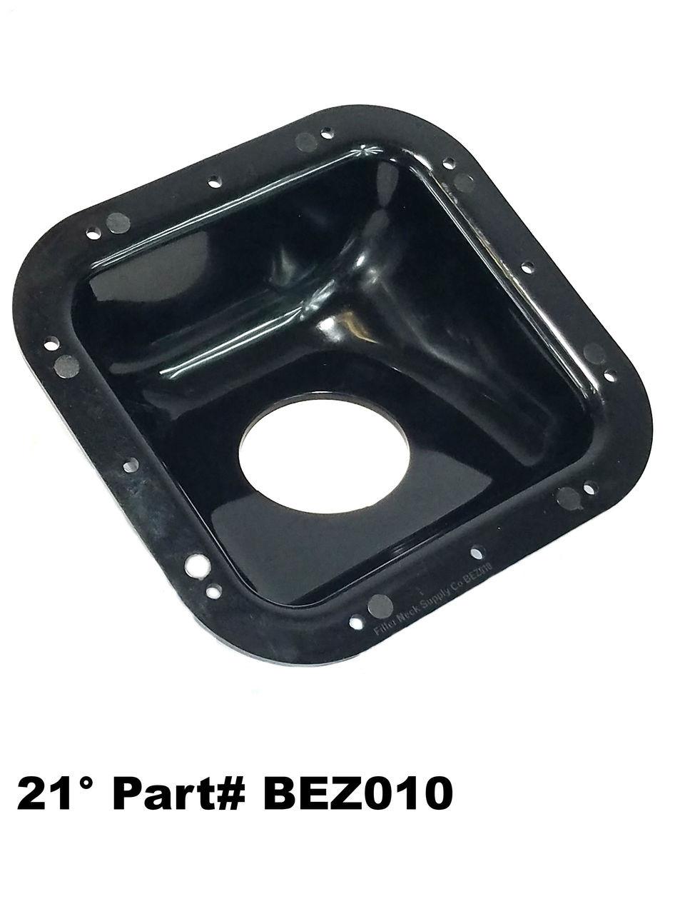 Diesel Gas Fuel Filler Neck Housing Protector Bezel Service Body Box Truck Square Plastic Degree on Dodge Dakota Diesel