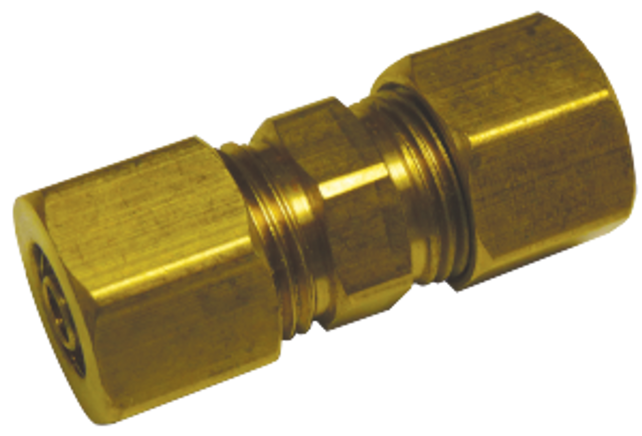 "New Carburetor fuel injection brass 1//4/"" X 1//8/"" ID rubber hose straight coupler"