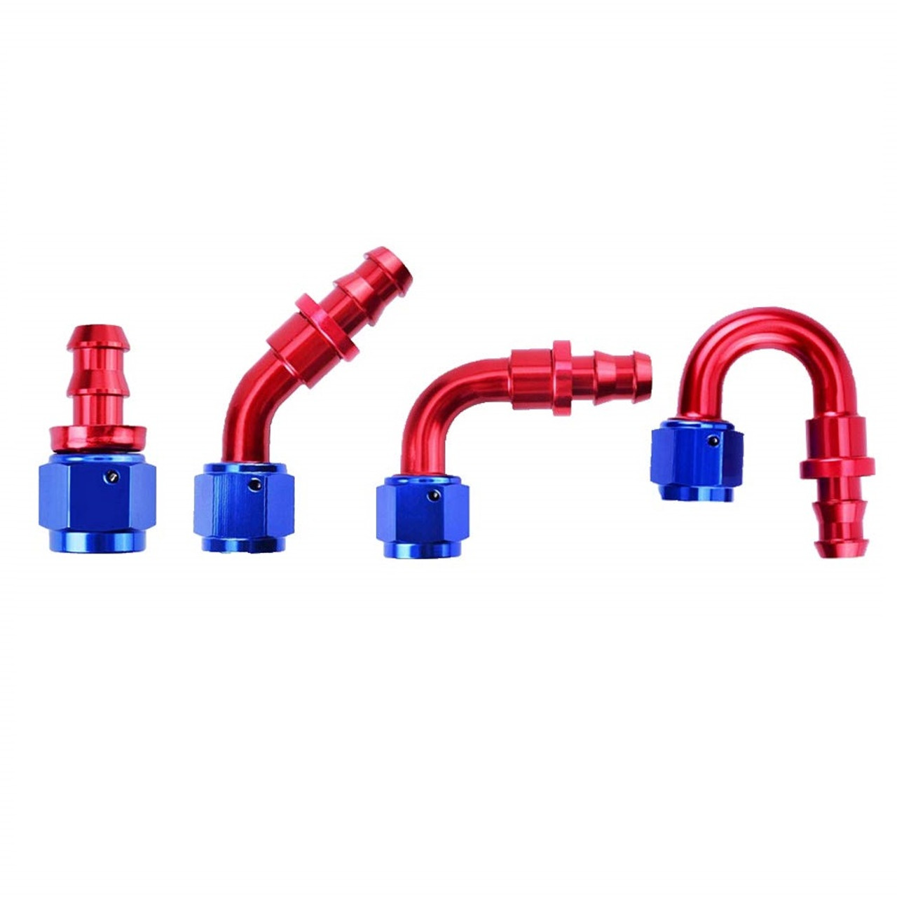 6AN Push Lock Hose Fittings