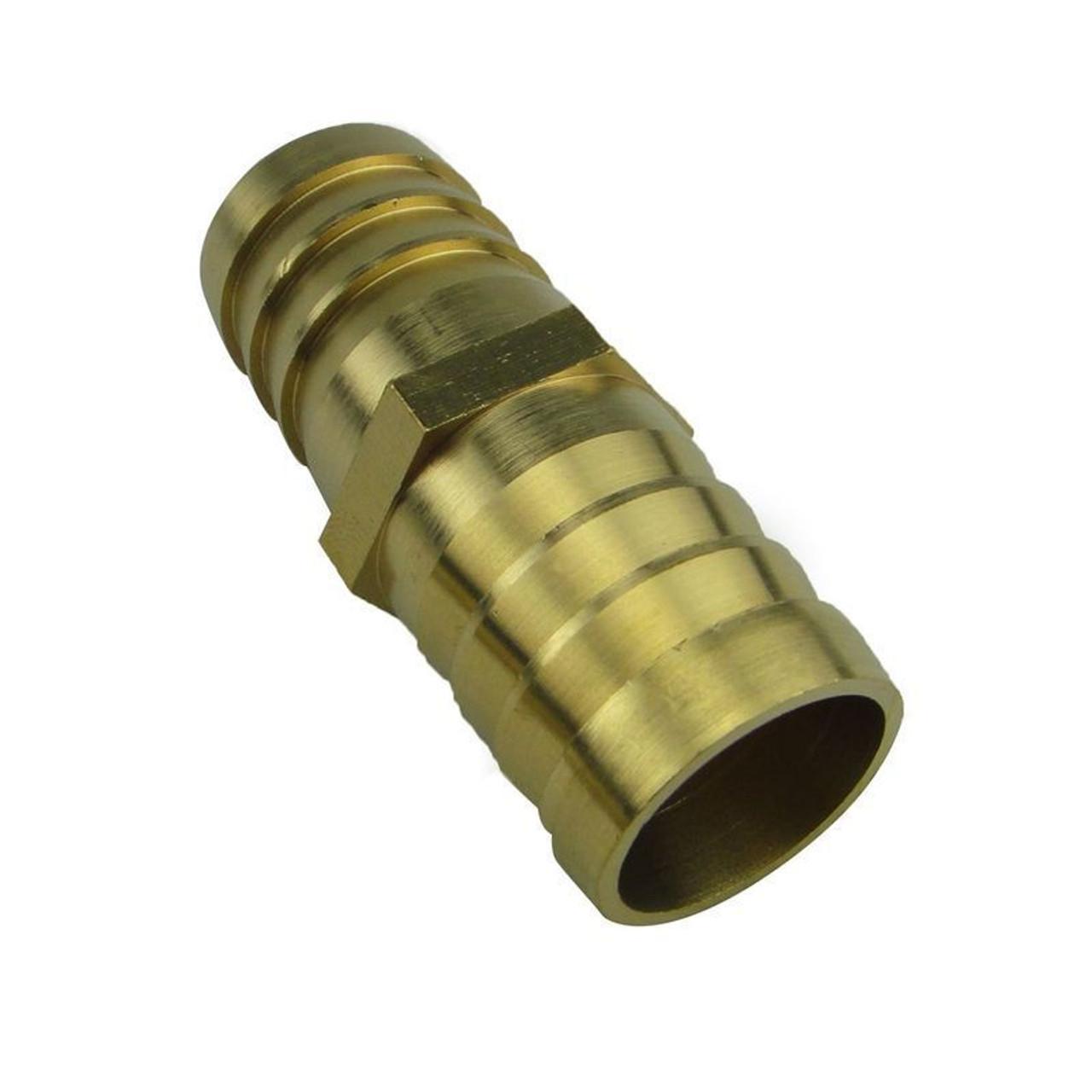 Metric Brass Hose Barb Joiner Gas - Diesel - Fuel Line Hose Joiner