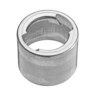 aluminum weld in filler neck 2.50 outer diameter