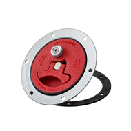 Aircraft Style Fuel Cell Filler Cap w/ Vented Cap. (91076510) RED