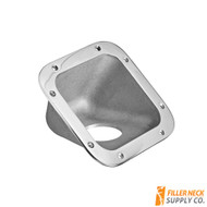 Square Fuel Filler Neck Protector / Dish / Bezel 42 Degree (FG4201-1-238)