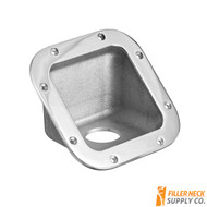 FG4502_1-163b fg45021163b square diesel exhaust fluid filler neck protector bezel bezzel for ambulance, FG45021163b, FG45021250b