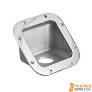 FG4502_1-163b fg45021163b square diesel exhaust fluid filler neck protector bezel bezzel for ambulance, FG45021163b, FG45021250b