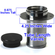 "3"" Billet Aluminum Filler Neck And Cap (STRAIGHT) (AC750215-300)"