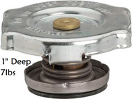 "gates 31306 stant 10206 radiator cap with 1"" deep seal / seat 7lb pressure rating RADIATOR CAP WITH DEEP SEAL gates 31306 stant 10206 ac delco RC-3 12R31, BADGER BR-6, BERKSON P-6, BOWES 77-505 BC-6, CARQUEST 33003, CST 7006, DOLE DR-6, EATON ER-6, EDELMANN ER-6 46004, FORD B2AZ8100E, JHON DEERE AT29054, MOTORAD T-6, PUROLATOR RC-6,"