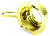 "Brass Radiator Filler Neck (Small) 1.69"" or 43mm O.D. SAE J164. (BFN003)"