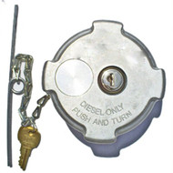 """Freightliner Locking (Quarter Turn) - Diesel Fuel Cap 2-3/8"""" I.D. (FTAC93) FTAC93, 03-37017-002, 03-37017-000, 0337017002, 0337017000"""