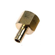 FL10-5	8mm fuelflex to threaded m14 x 1.5 brass adapter reducer connector