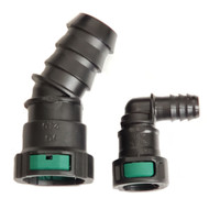 "1"" & 1/2"" DEF UREA Diesel Exhaust Fluid Tank Quick Connect Hose Fittings 90°degree and 45° degree options"