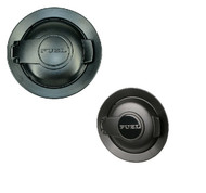 Vapor Matte Black 2008-2020 Challenger Fuel Fill Door - Gas Cap Cover
