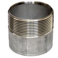3npsl, 3npt, weld on threaded 304 stainless filler neck