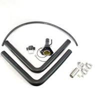 2020 2021 Silverado SIERRA 1500 Bed Takeoff Service Body Conversion Filler Neck Kit for gasoline engine applications