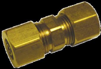 8mm FuelFlex Tube to 8mm Fuel Flex Line Compression Fitting FL37