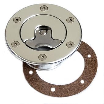 billet aluminum custom hotrod rat rod resto rod gas petrol aero aircraft flush mount gas fuel diesel cap