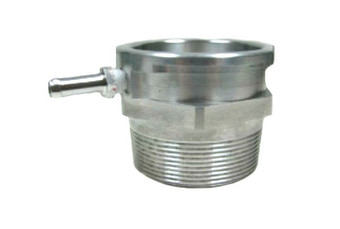 2NPT pipie Thread On Billet Aluminum Radiator / Surge Filler Neck