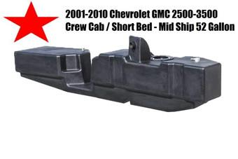 Gmc Chevy Crew Cab Short Bed Titan Xxl Fuel Gal Tank