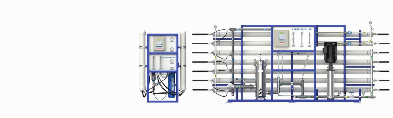 Tratamento de água com troca de íons