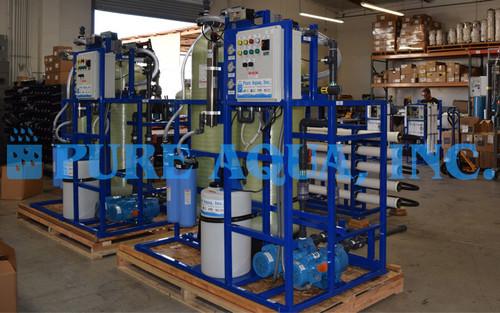 Sistema de Filtragem de Água da Chuva - 15 x 2 GPM - Bermudas