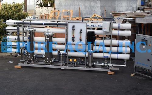 Filtragem por OR com Cartucho de Armazenamento em Aço Inoxidável 350,000 GPD - Argélia