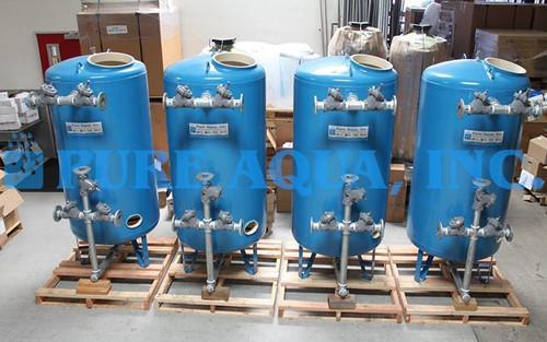 Sistemas de Filtração Multimídia 4x 70 GPM - Kuwait