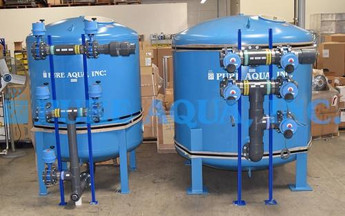 Sistemas de Filtro Multimídia 1 x 500, 1 x 400 GPM - Iraque
