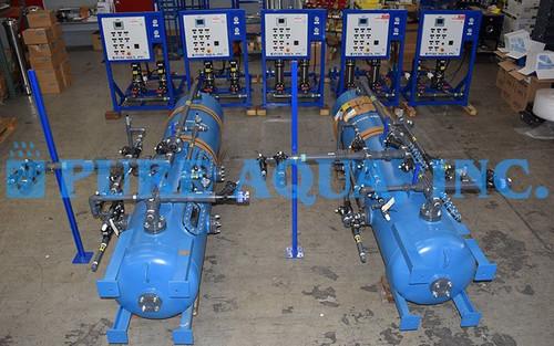 Deionizador de Leito Misto para Tratamento de Água de Laboratório – Kuwait